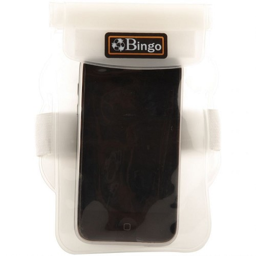 BINGO Waterproof Bag [WP06-6] - White - Plastik Handphone / Waterproof